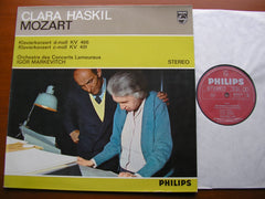 MOZART: PIANO CONCERTOS Nos. 20 K466 & 24 K491     HASKIL / LAMOUREUX ORCHESTRA / MARKEVITCH    835 075
