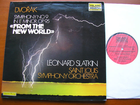 DVORAK: SYMPHONY No. 9 'From The New World'     SLATKIN / SAINT LOUIS SYMPHONY   DG-10053