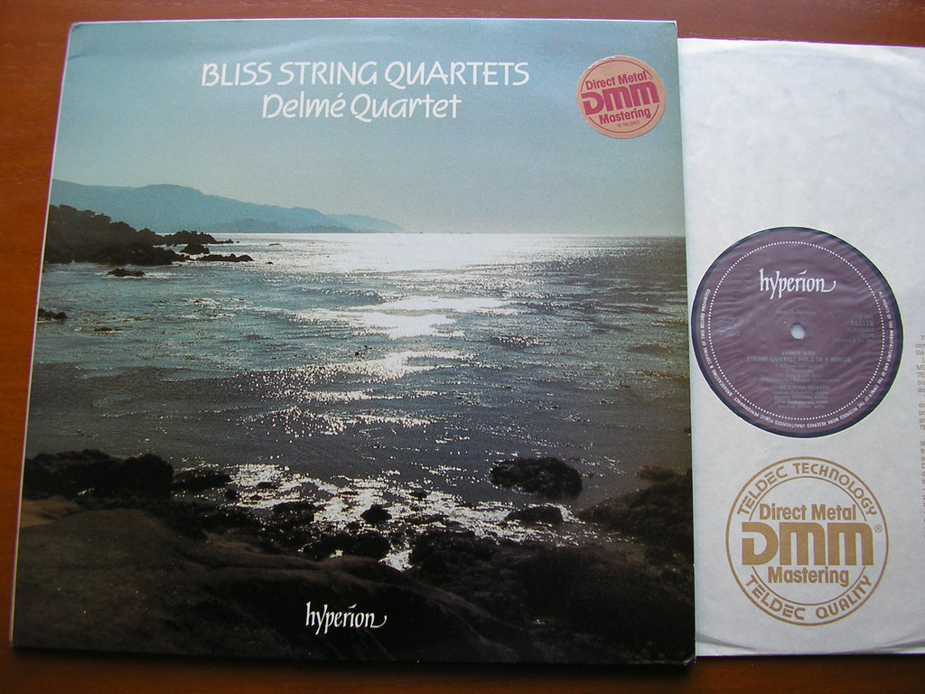 BLISS: STRING QUARTETS Nos. 1 & 2   DELME STRING QUARTET    A66178