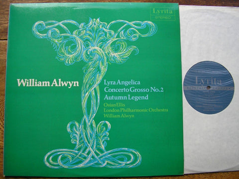 ALWYN: LYRA ANGELICA / CONCERTO GROSSO No. 2 / AUTUMN LEGEND OSIAN ELLIS / LPO / WILLIAM ALWYN SRCS 108