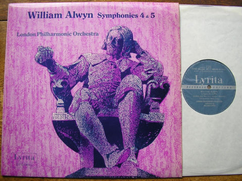 ALWYN: SYMPHONIES Nos. 4 & 5 WILLIAM ALWYN / LONDON PHILHARMONIC   SRCS 76