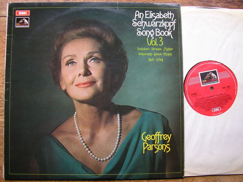 AN ELISABETH SCHWARZKOPF SONG BOOK VOLUME 3 ASD 2634