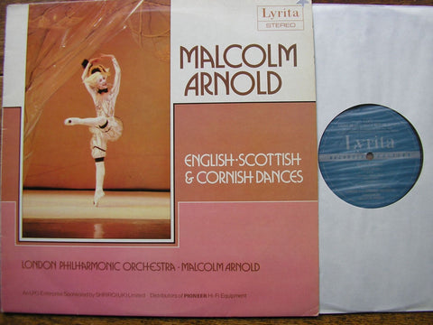 ARNOLD: ENGLISH, SCOTTISH & CORNISH DANCES MALCOLM ARNOLD / LONDON PHILHARMONIC  SRCS 109