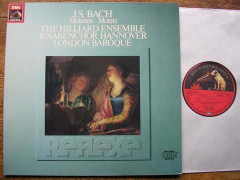 BACH: MOTETS BWV 225 - 230 LONDON BAROQUE / THE HILLIARD ENSEMBLE / PAUL HILLIER EL 270238