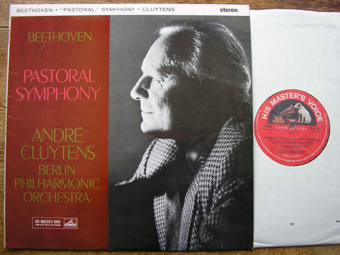 BEETHOVEN: 'PASTORAL' SYMPHONY ANDRE CLUYTENS / BERLIN PHILHARMONIC ORCHESTRA ASD 433