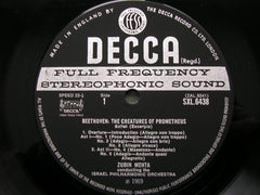 decca, 6438, 1970, original, wideband, pressing, slight, crease,
