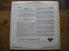 decca, 2044, 1958, wide, band, grooved, flipback, sleeve, creased, front, print, dated,