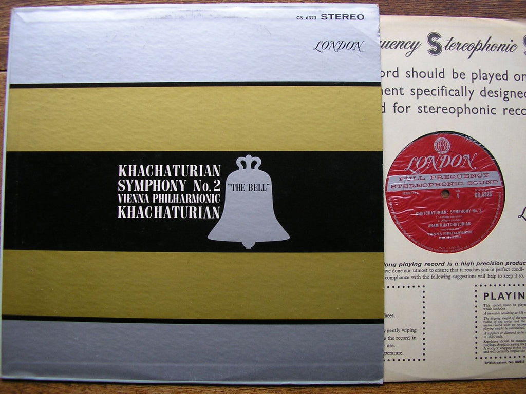 1962, decca, pressed, london, original, blueback, wide, band, grooved,
