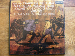 decca, 1967, libretto, wide, band, grooved, side, comprises, recital, italian, arias, elena,