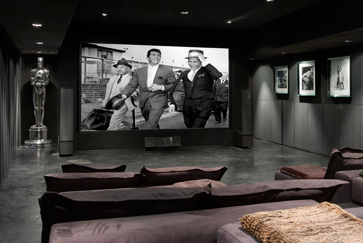 Country House Italy stanza cinema Fabrizio Cocchi interior designer