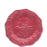 Bordallo Pinheiro - Artichoke and Bird (Dark Pink)