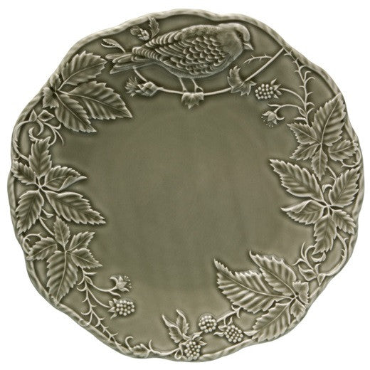 Bordallo Pinheiro - Artichoke and Bird (Dark Gray)
