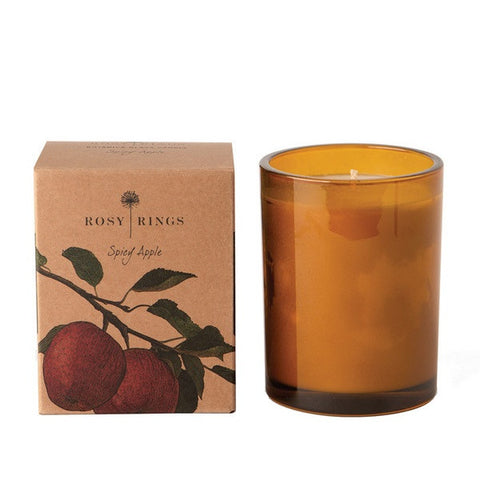 Rosy Ring - Botanica Glass Candle