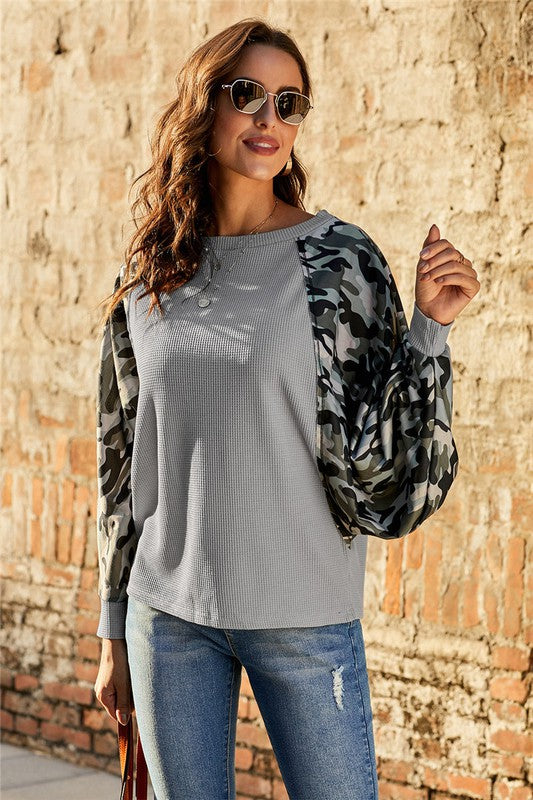 Thermal Camo contrast dolman
