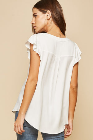Summer flutter sleeve