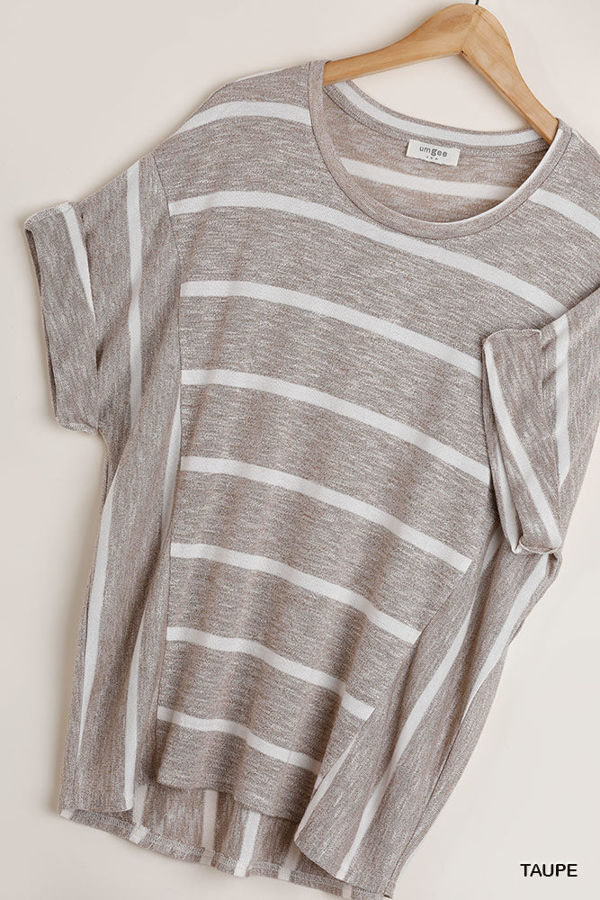 Umgee Stripe high/low top