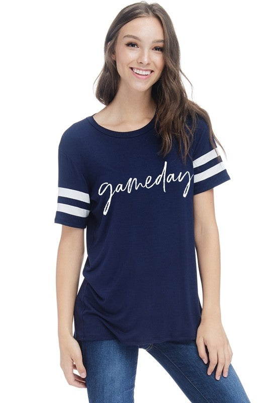 Gameday Tee -  Navy