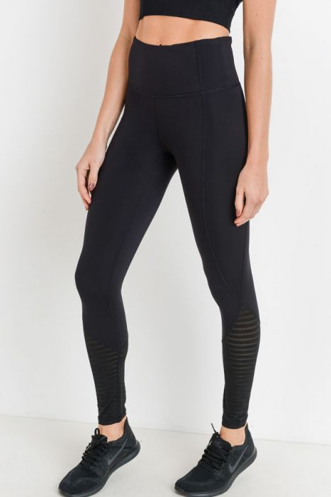 Highwaist burnout mesh leggings