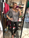 Grey sequin top - FINAL SALE
