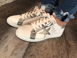 Star sneakers - canvas