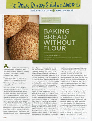 baking bread without flour