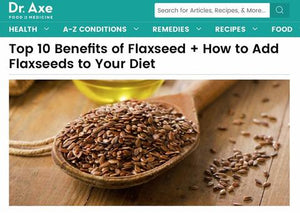Whole flax seed vs. ground flax seed
