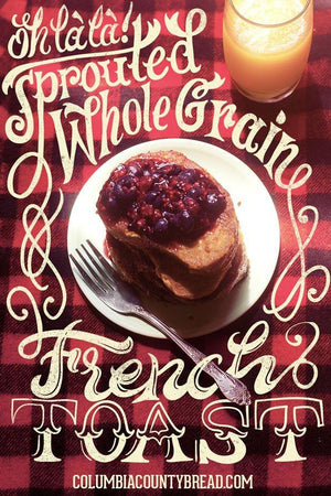 Sprouted Whole Grain French Toast