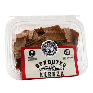 Sprouted Kernza Flat Bread Crisps