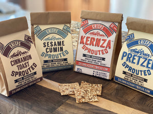 Sprouted Crisps Sample pack