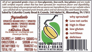 Ancient Grains Crisps - 4 oz