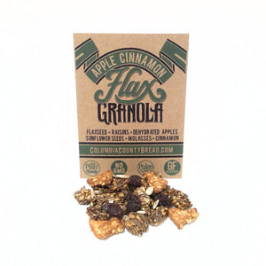 "12oz Apple Cinnamon ""Plan Friendly"" Flax Granola"
