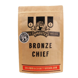 Sprouted Organic Bronze Chief Wheat - 4lbs
