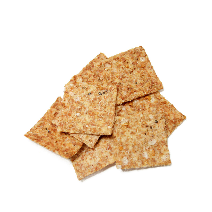 Garlic Pepper Flatbread Crisps 4 Pack