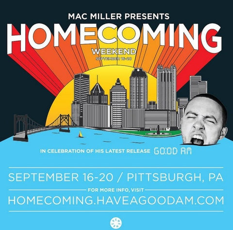 Mac Miller In Store & GO:OD AM Release Party