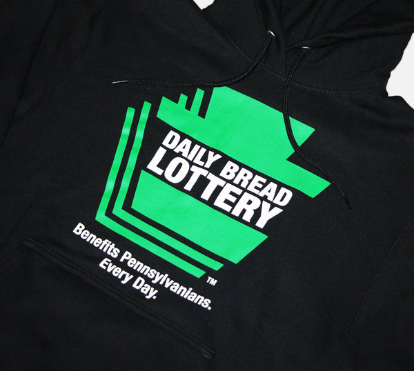 Daily Bread Lottery Hoodie
