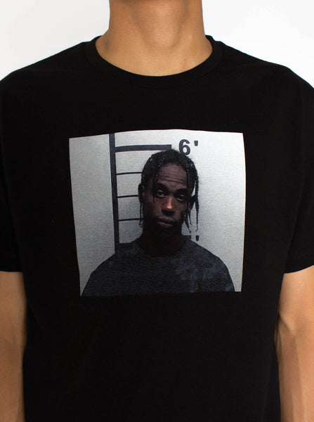 Travis Scott Mugshot Tee