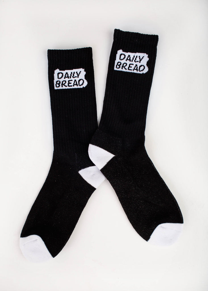 State Socks - Black/White