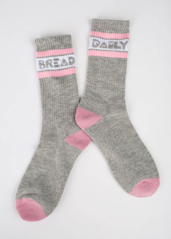 Moosh Socks - Grey/Pink