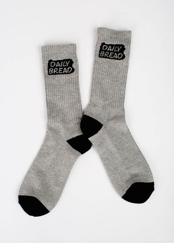 State Socks - Grey/Black