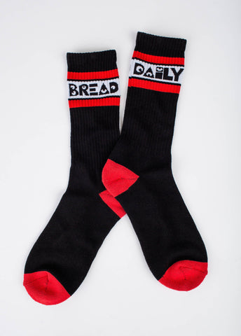 Moosh Socks - Black/Red