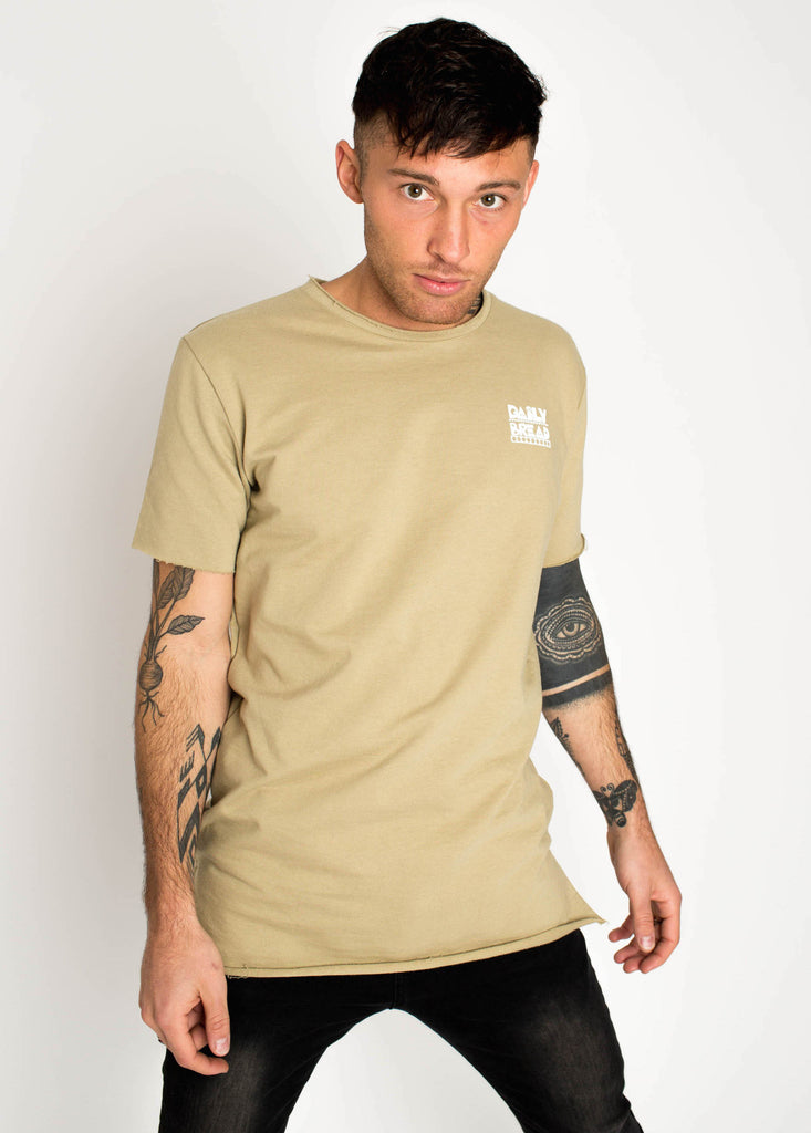 Moss French Terry Tee