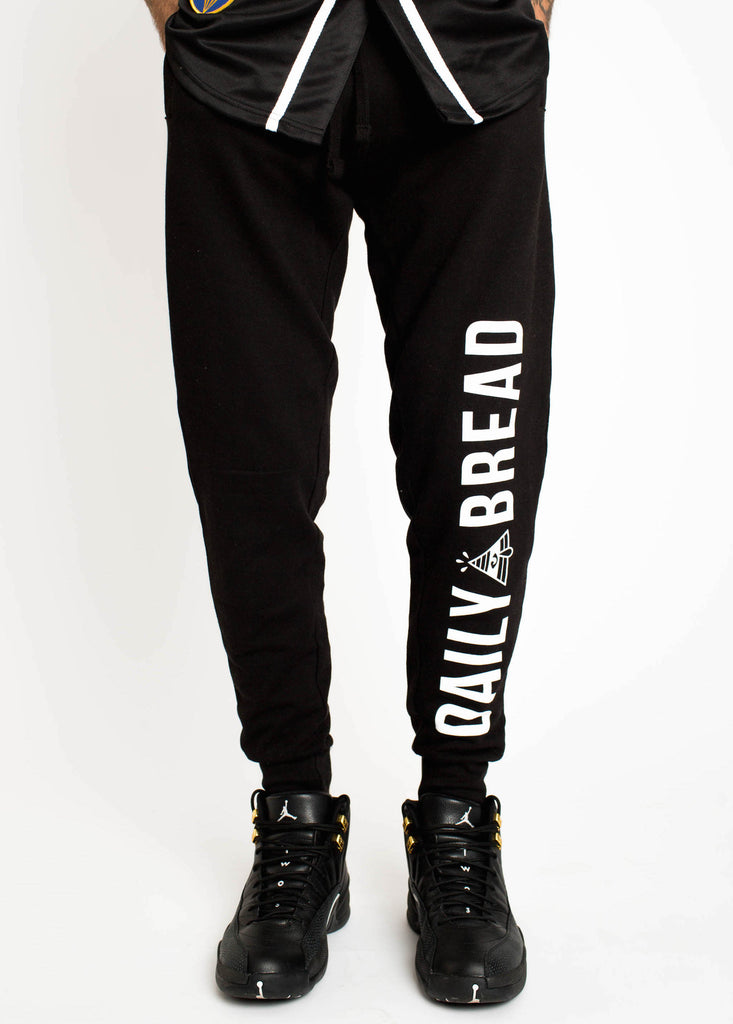 Core Pyramid Black Joggers