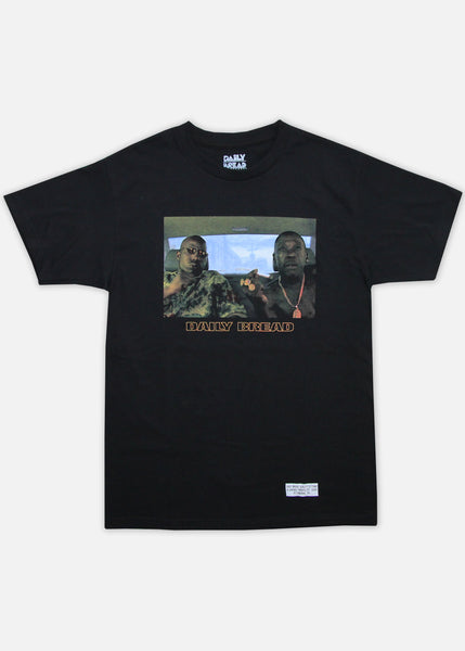 TOMMY & OX TEE - BLACK