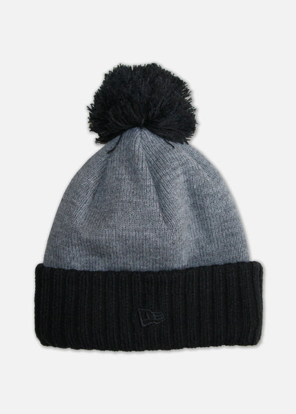 Moosh New Era® Beanie - Black/Heather Grey