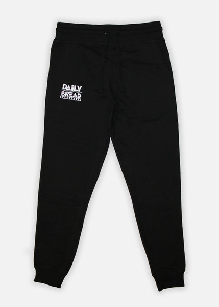 Moosh Joggers - Black/White