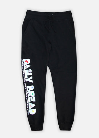 MOOSH JOGGERS - BLACK/PRIMARY