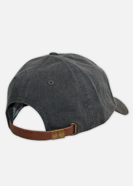 MOOSH PIGMENT DYED 6-PANEL - BLACK/IVORY