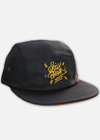 STACKED CONTRAST 5-PANEL - BLACK
