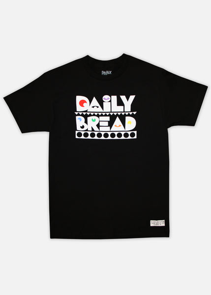 PRIMARY MOOSH TEE - BLACK
