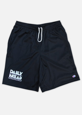 MOOSH CHAMPION MESH SHORTS - BLACK